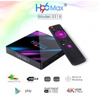Box Android H96 MAX RK3318 Smart TV Box Android 9 9.0 4GB 32GB 64GB 4K Youtube Media player H96MAX TVBOX Android TV