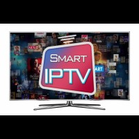 Smart IPTV Subscription For 12 Months Compatible with most TVs & Systems